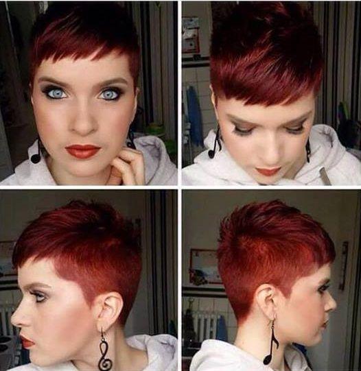Frisuren undercut rot
