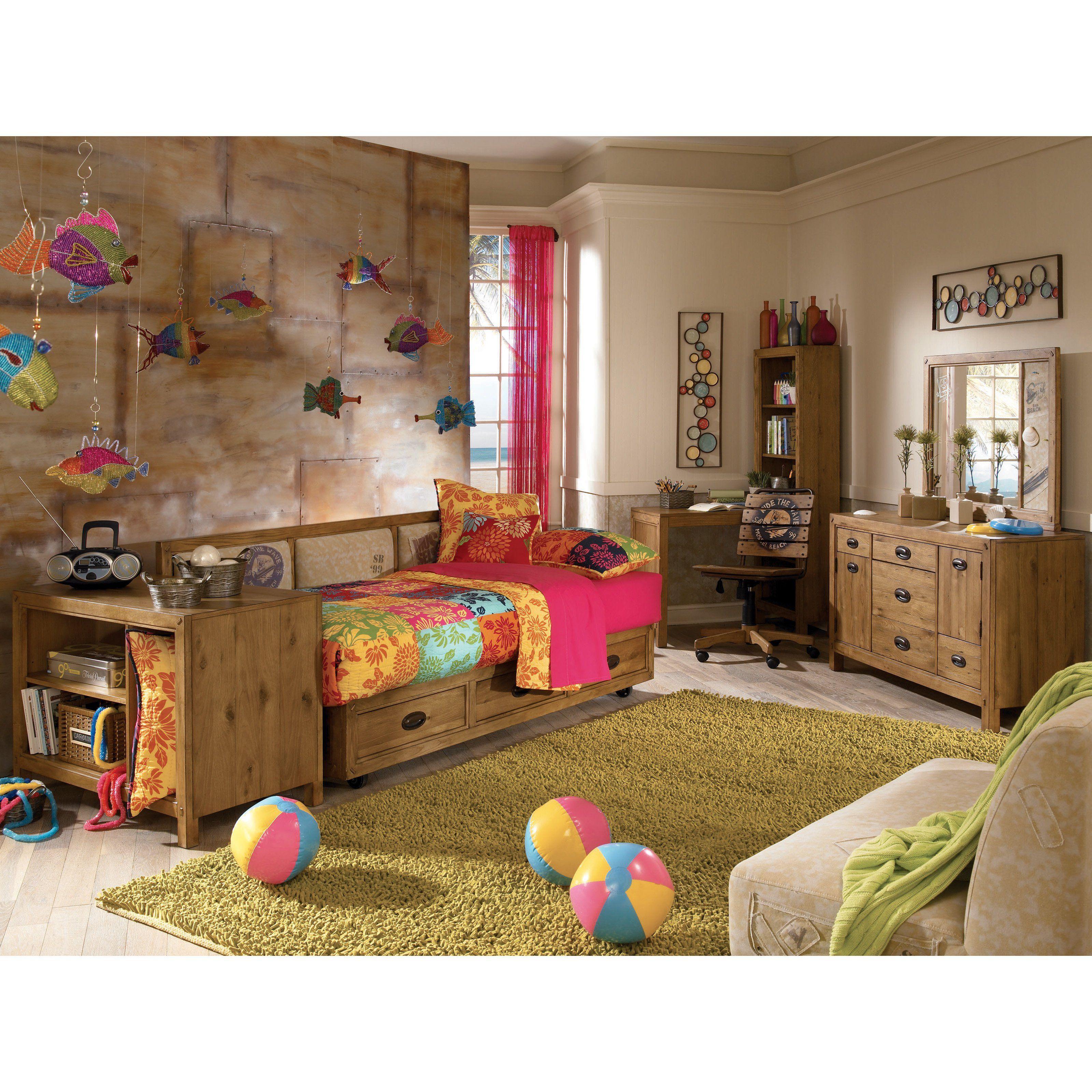 Sponge Bob Surf Club Platform Storage Daybed Kids beds