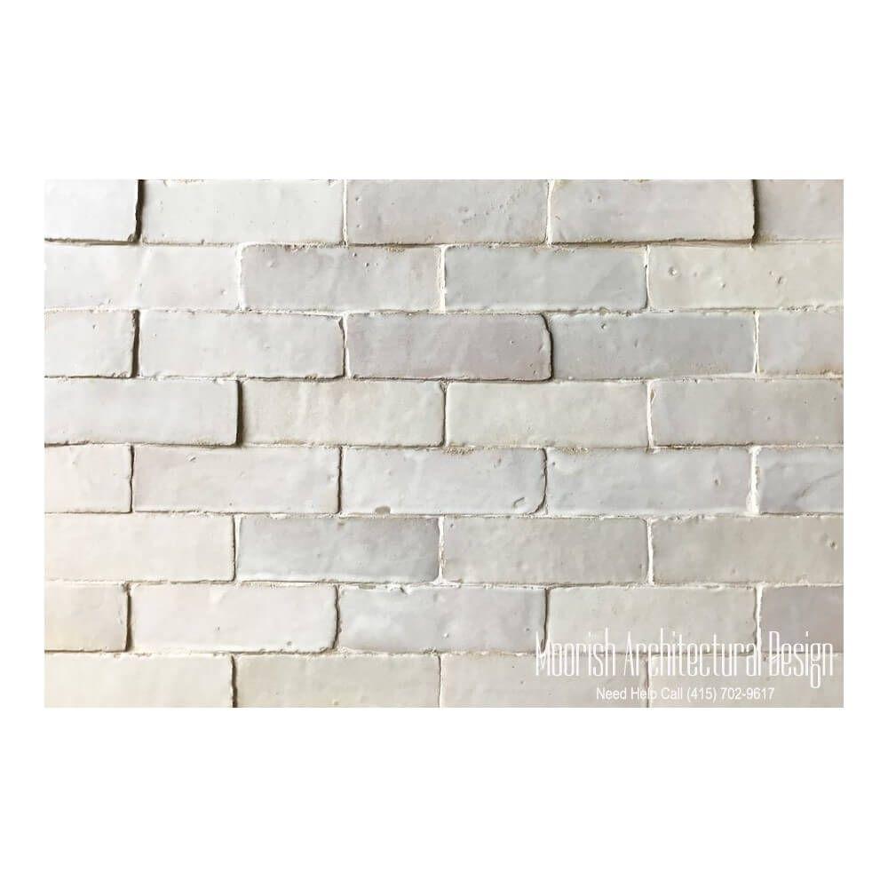 Glazed white moroccan subway tiles also called white bejmat works glazed white moroccan subway tiles also called white bejmat works great with kitchen backsplash kitchen dailygadgetfo Images