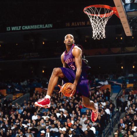 Vince Carter Nba Slam Dunk Contest Basketball Best Dunks