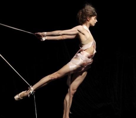 Taken by artist James Ostrer feauturing the San Francisco ballet dancer Maria Kochetkova.