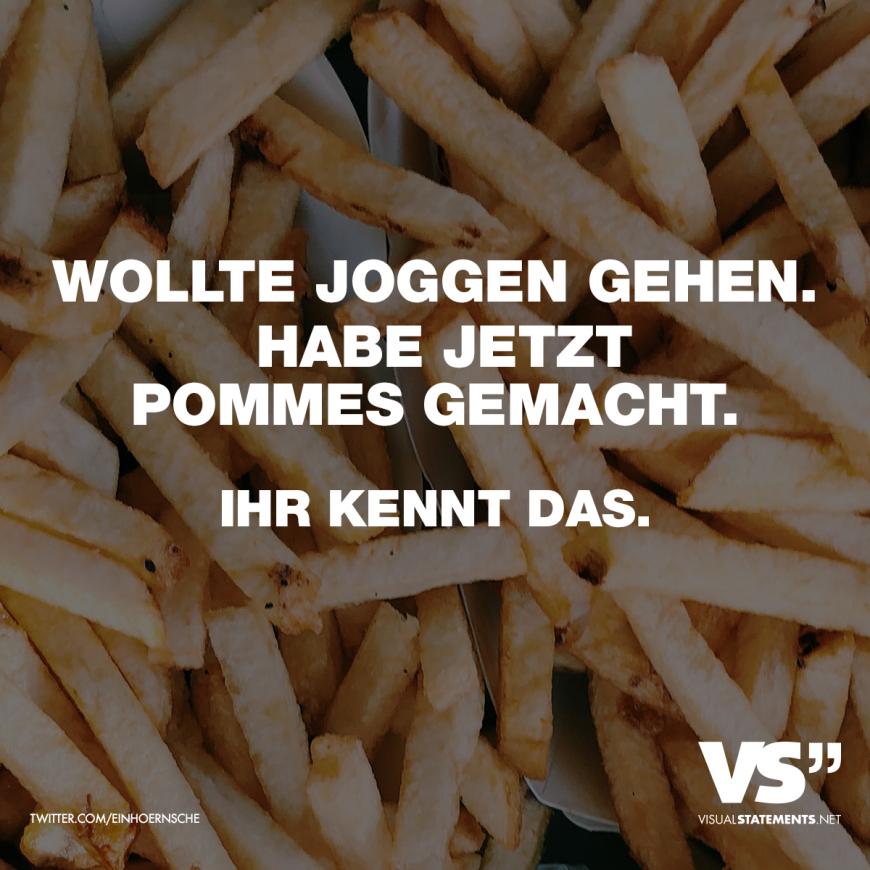 """Postkarte Sprüche /& Humor /""""Ich bin schon wieder total unterpommest!/"""""""