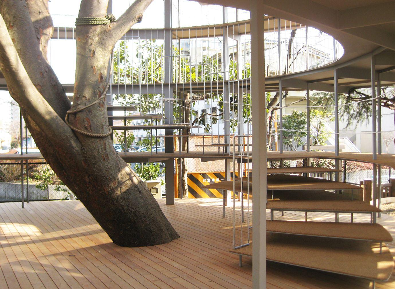 Kinder Garden: Fuji Kindergarten In Japan. By Yui And Takaharu Tezuka