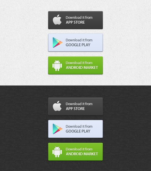 App Download Buttons Psd Android With Images App
