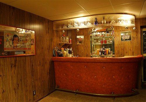 Cute Basement Bar