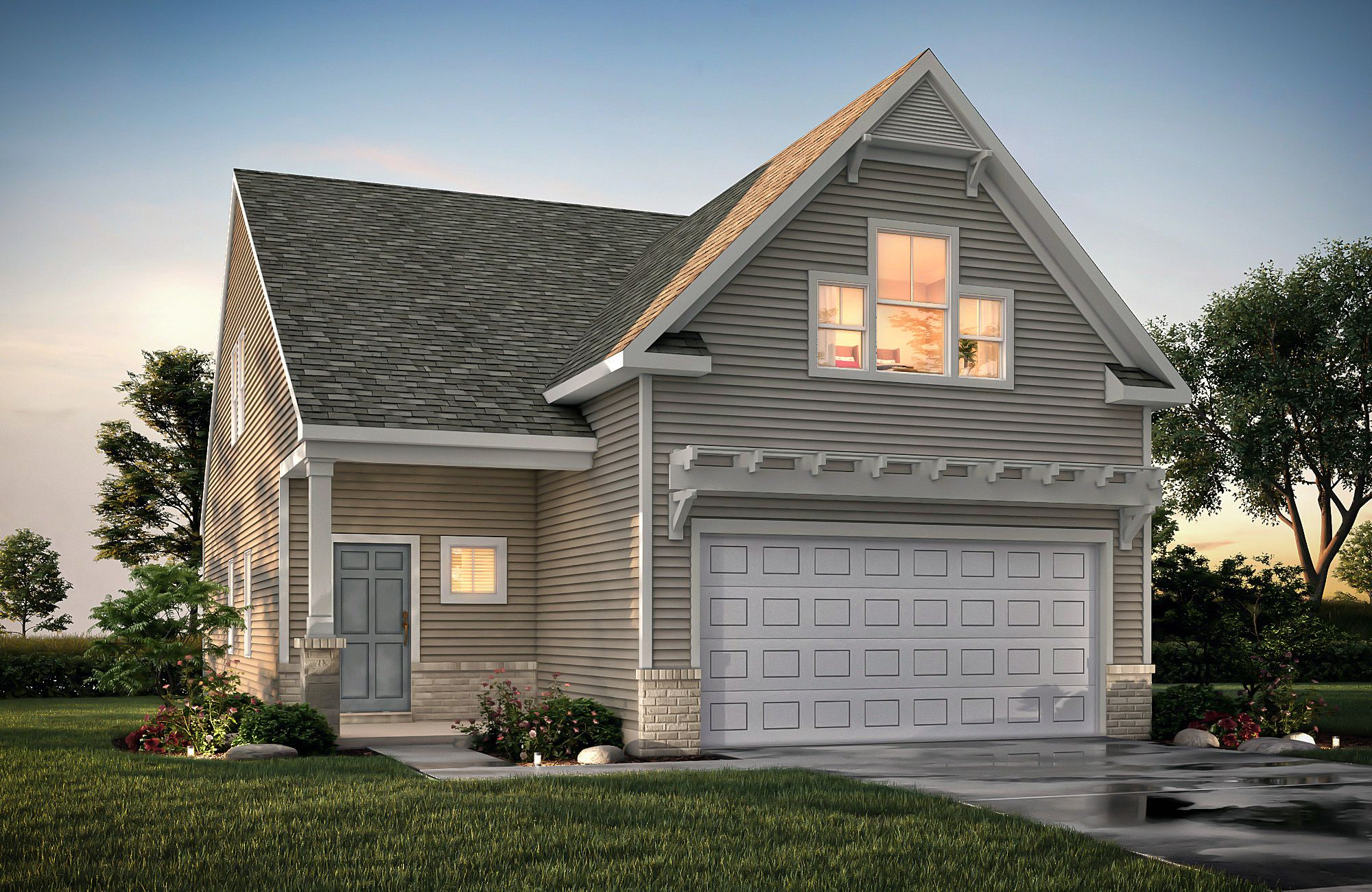 Kline R B2 True Homes House Elevation House Styles