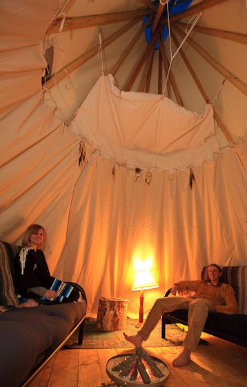 Luxurious Colorado Tipis Located Between Gunnison And Blue