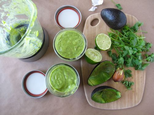 Taqueria-Style Creamy Avocado Salsa -- a crowd favorite.