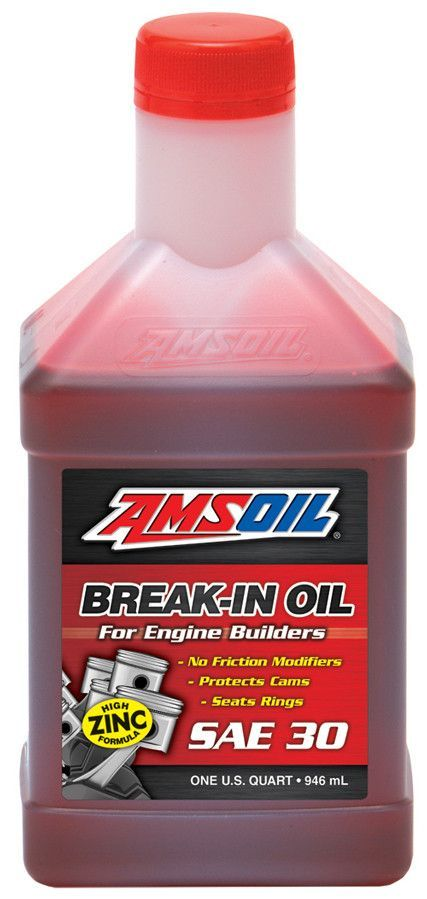 Amsoil Break In Oil Sae 30 Piston Ring Engineering