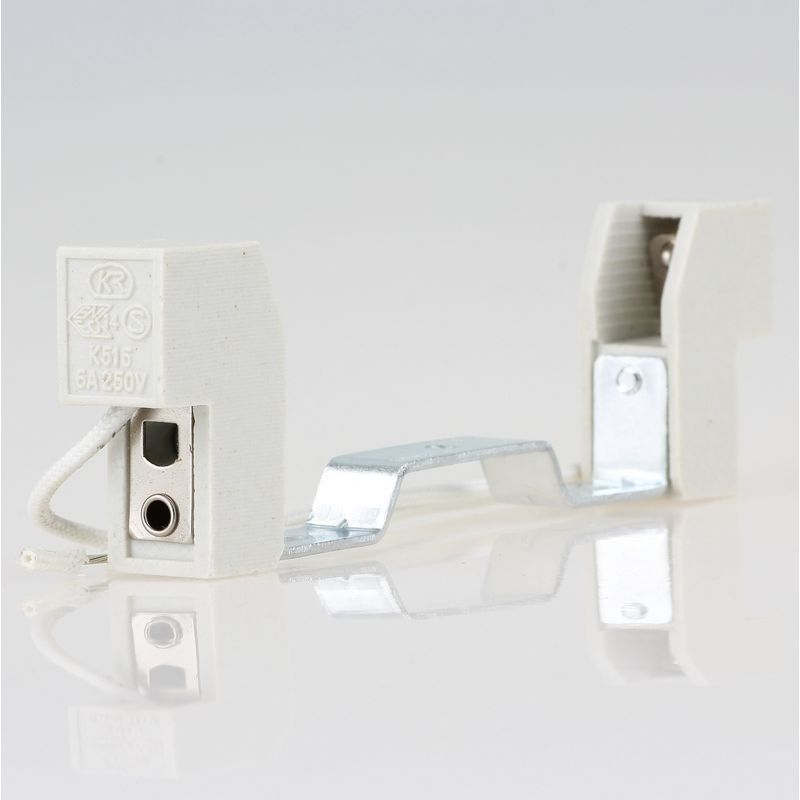 R7s Hochvolt Halogen Lampenfassung Kontaktabstand 118mm 5 80 A Fassung Lampe Keramik