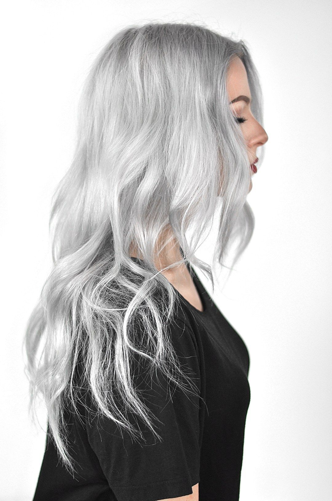 Overtone Pastel Silver Review And Tutorial Silver Hair Color