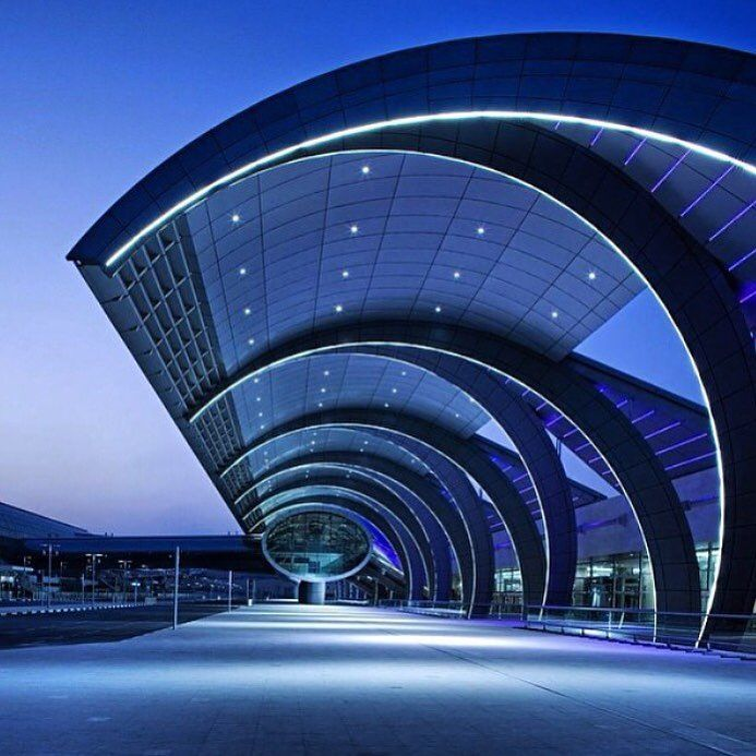 Terminal 3 dubai international airport by adpi for the emirates airlines operations the - Thai airways dubai office ...