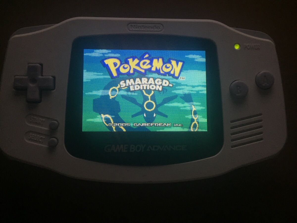 Just finished modding my GBA. It's gorgeous.