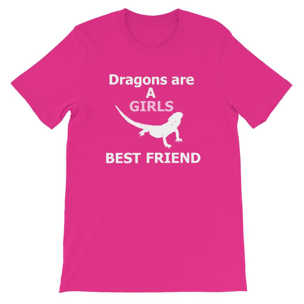 4d9569867 Bearded Dragon T Shirts - Bearded Dragon Shirt - Reptile T Shirts - Dragons  are a Girl's Best Friend - Bearded Dragon Tee Shirts by LeftArrowTees on  Etsy