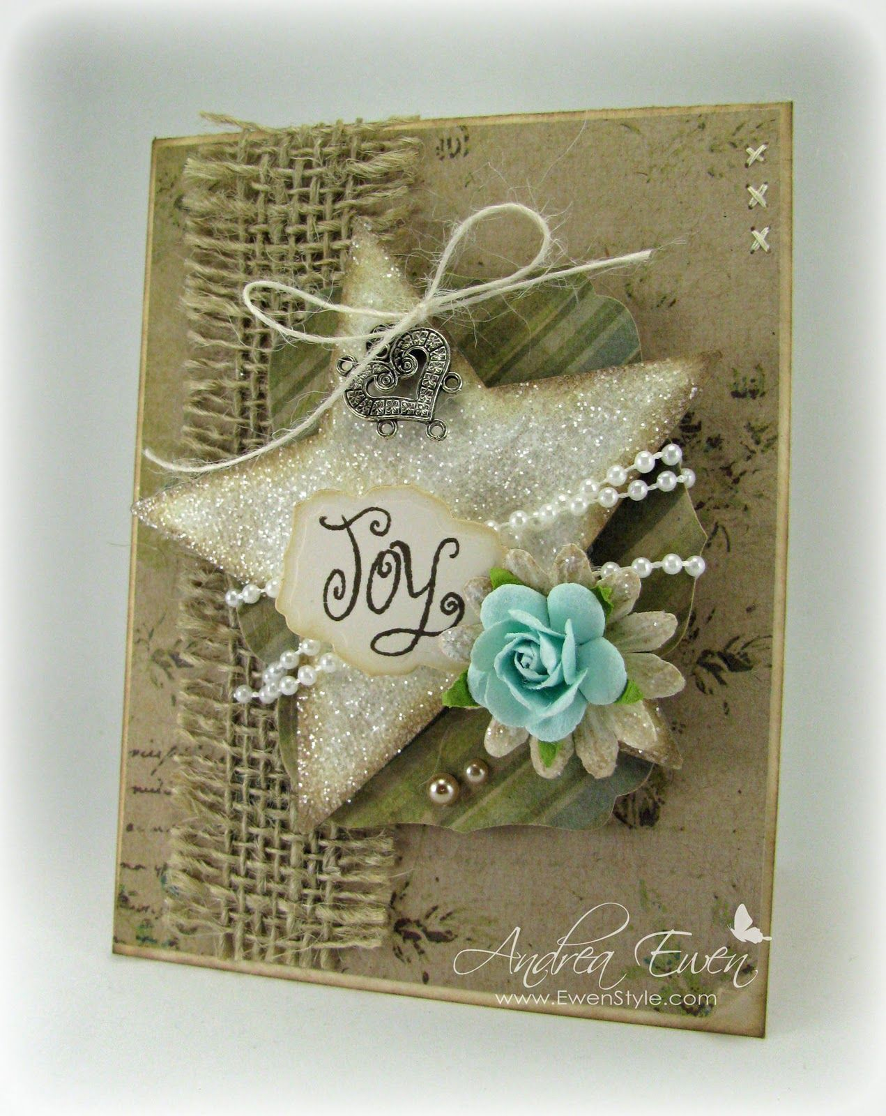 delightfully lovely and so sweetly rustic christmas cards paper_crafting - Rustic Christmas Cards