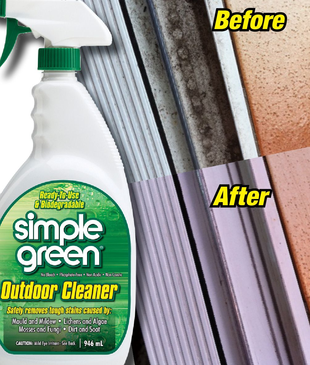 Cleaning door track with Simple Green Outdoor Cleaner! & Cleaning door track with Simple Green Outdoor Cleaner! | Before ... pezcame.com