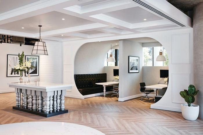Kantoorinrichting Van Hypernuit : Office tour: porter davis offices u2013 melbourne office designs
