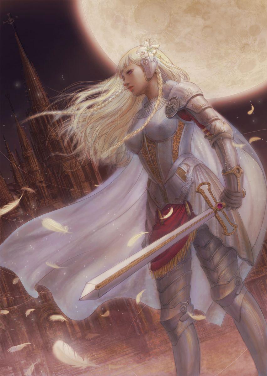 White Knight by ~TaKe-bamboo on deviantART | Female knight ...