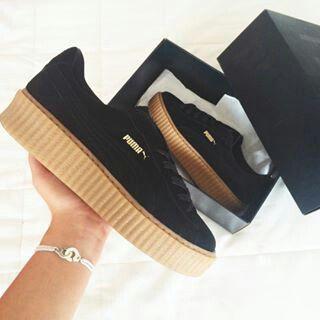 puma creepers rihanna | Zapatos puma, Moda con zapatillas