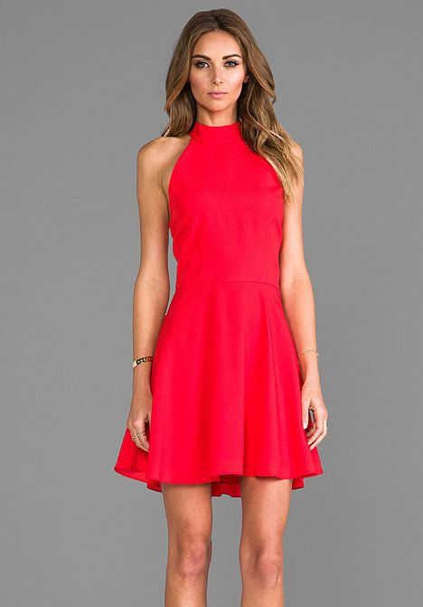 Red Halter Dress | Classy, Clothes and Banquet dresses