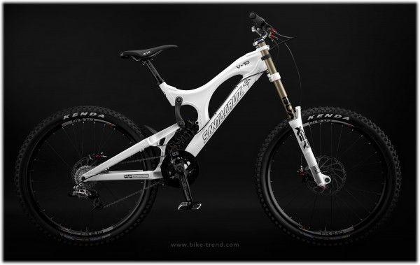 Santa Cruz V-10 Downhill Bike