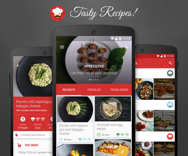 Patsilvarte: Tasty Recepies! App