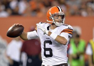 Former Michigan State Qb Brian Hoyer Closes Nfl Preseason For Cleveland Browns With Sharp Performance Nfl Preseason Michigan State Nfl