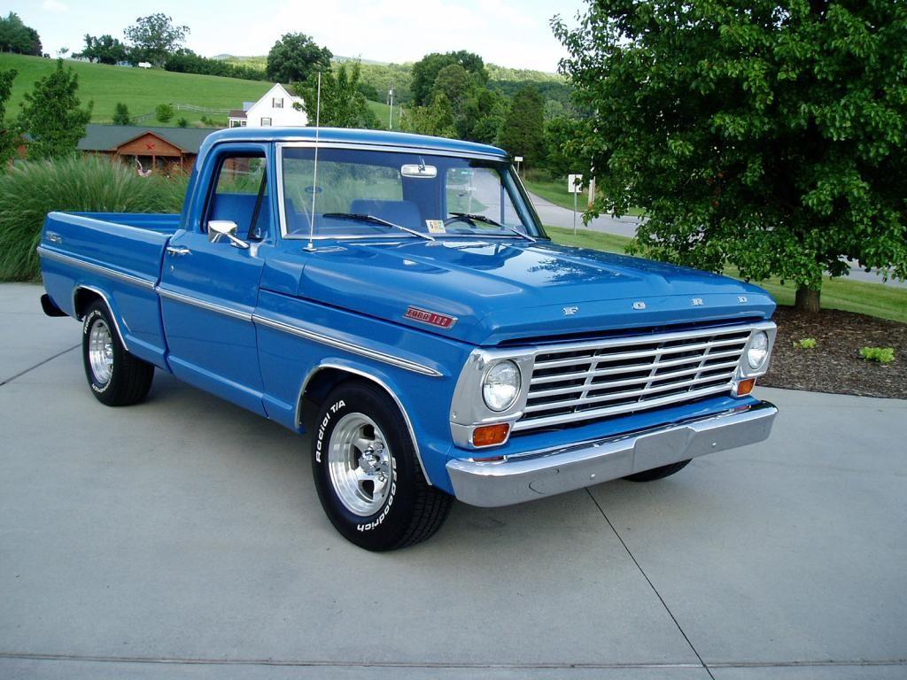 1967 Ford F100 Classic Ford Trucks Ford Trucks Old Ford Trucks