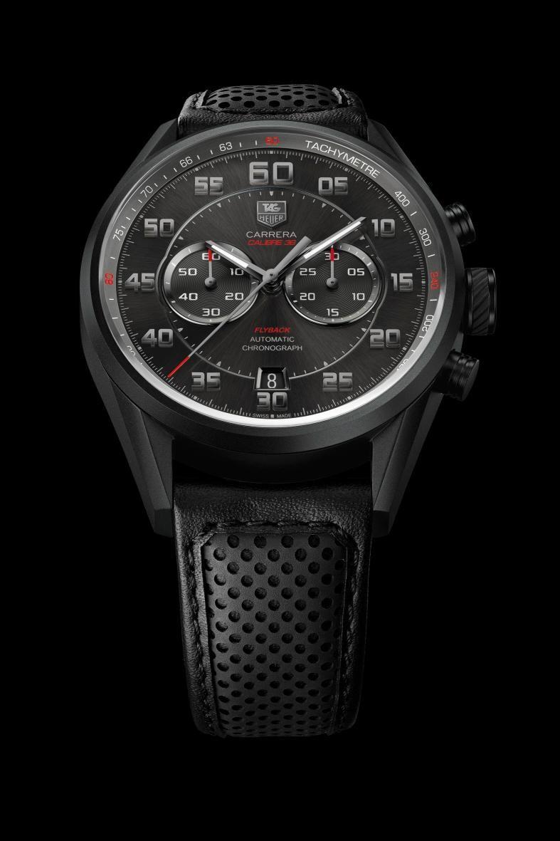 Basel 2013 - TAG-Heuer - Carrera Calibre 36 Flyback Racing