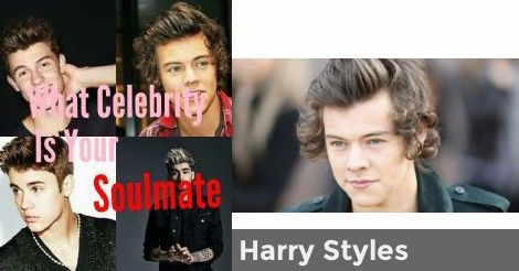 What Celebrity Is Your Soulmate Quiz Pinterest Quizzes Harry