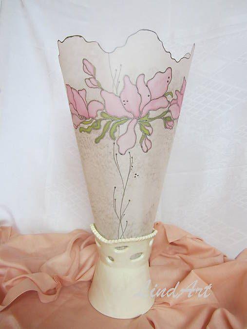 Linduschka / Stolná lampa Romantika