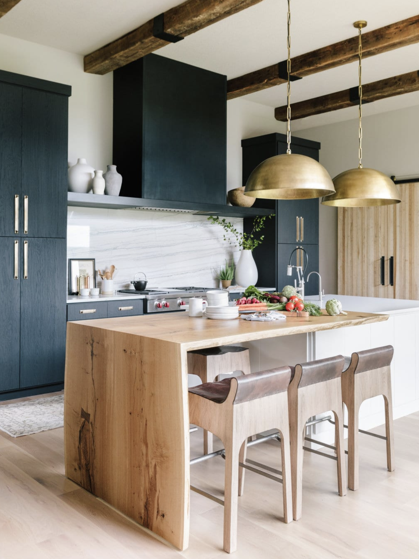 Blonde Wood How To Use It Everywhere The Identite Collective Kitchen Style Kitchen Interior Kitchen Remodel