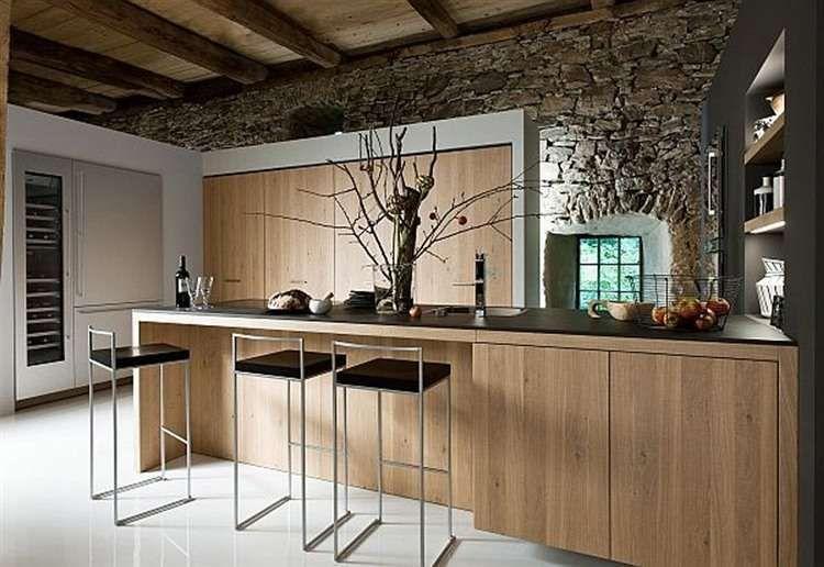 Arredare la casa in campagna in stile chic moderno cucina moderna