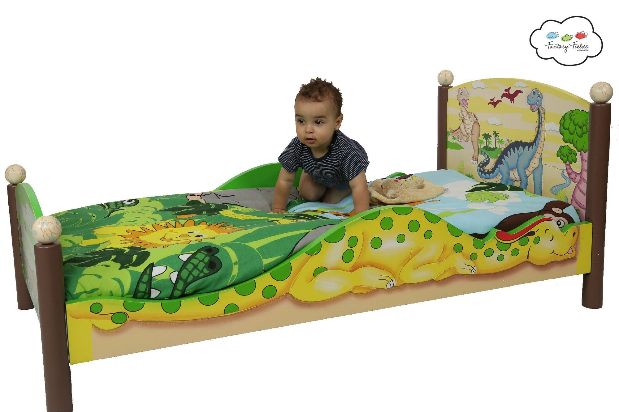 Dinosaur Kingdom Toddler Bed Dinosaur Toddler Bedding Toddler