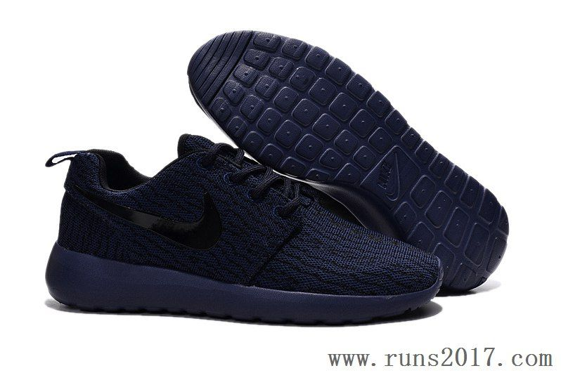 70654bc7ed3f7 Nike Roshe Run Yeezy Dark Blue Men