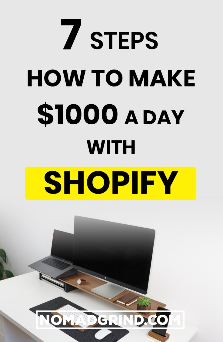 7 Steps How To Make $1000 A Day With Shopify | Dropshipping | Dropshipping Tips | Dropship | Dropshipping For Beginners | Dropshipping Shopify | Dropshipping Ecommerce | Dropshipping Aliexpress | Dropshipping Hacks | Dropshipping Guide | Dropshipping Business | Dropshipping Marketing