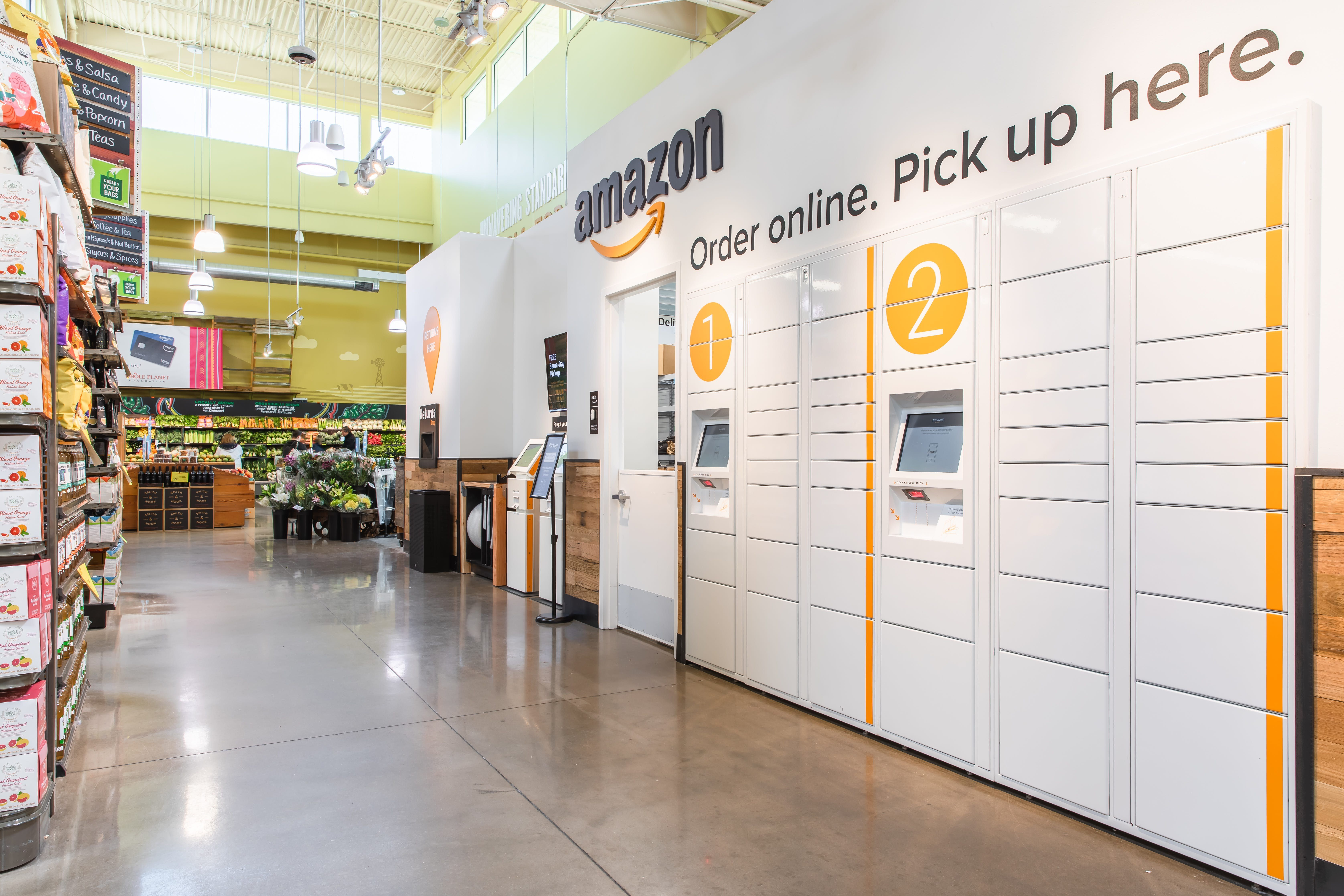 Got an Amazon package? A local Whole Foods has new way for