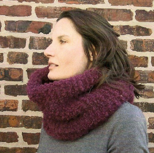 Plymouth Ultimo Big Cowl Free Knitting Pattern | NobleKnits Free ...