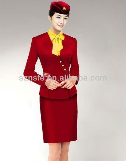 Airline hostess uniforms