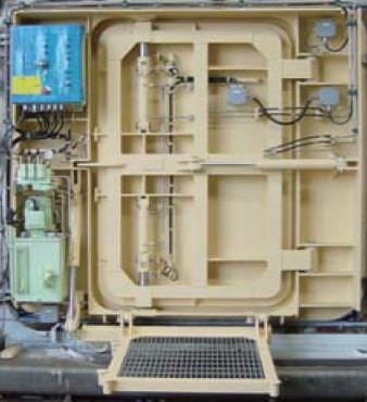 Ship Doors Waterproof Hydraulic Side Hinged Sms Marine System