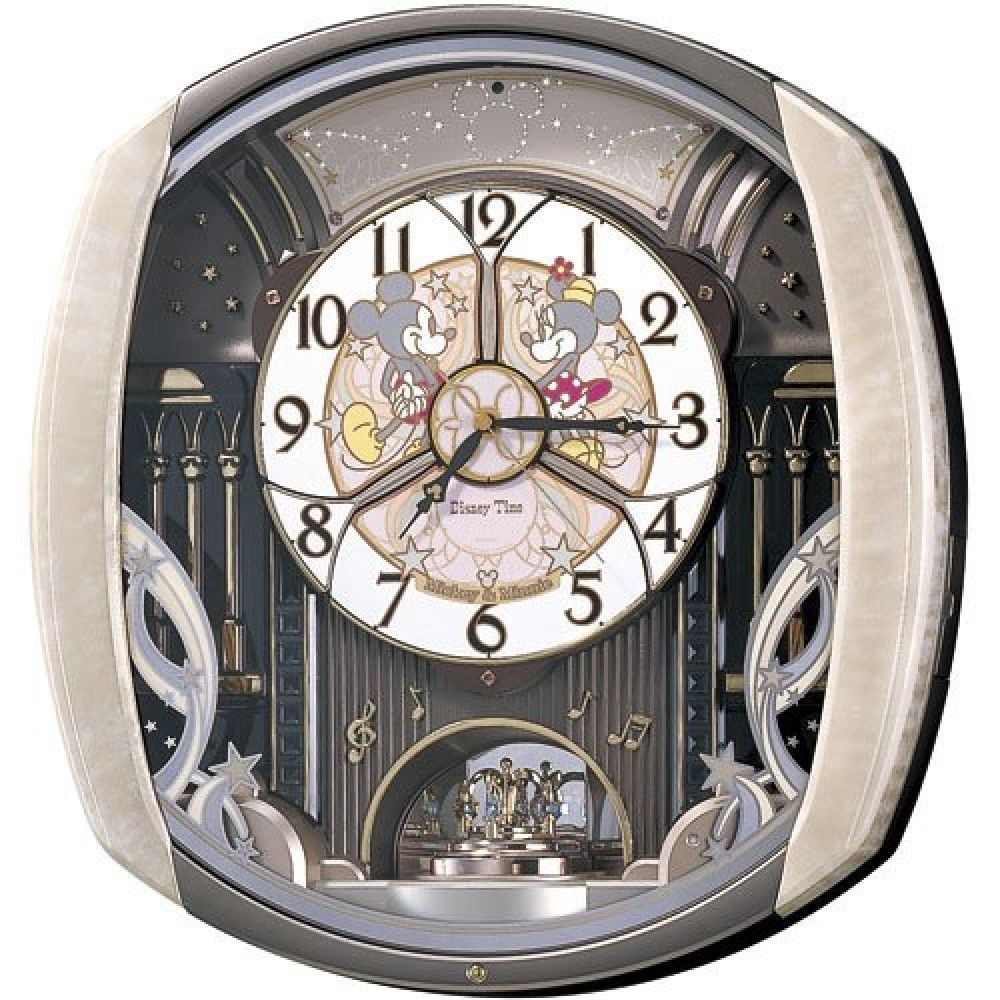 Details about seiko clock disney wall clock mickey friends radio details about seiko clock disney wall clock mickey friends radio clock twin pas fw563a amipublicfo Choice Image