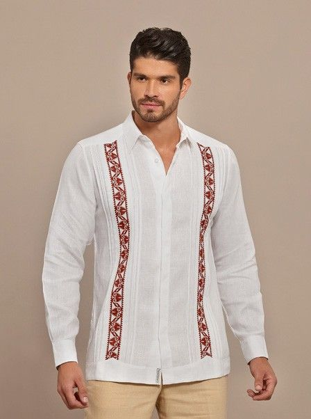 0d65a4708f Formal Guayabera embroidered