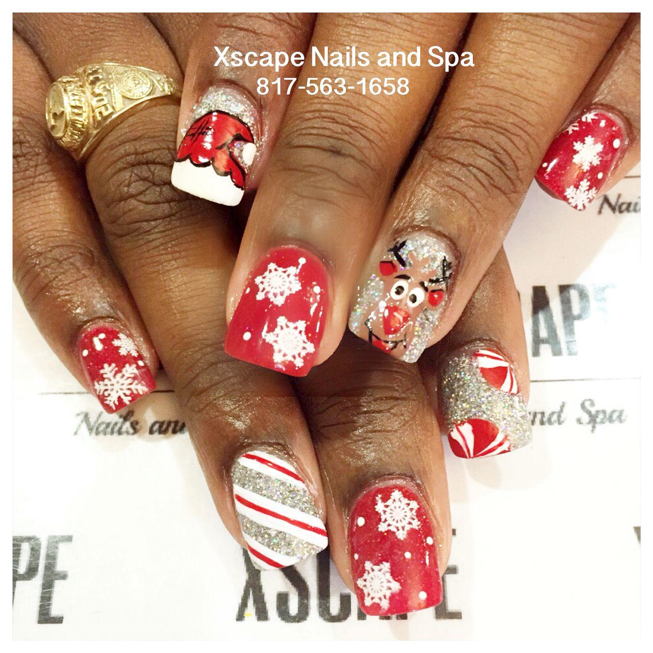 Cutefun christmas nail designs cute nails designs pinterest cutefun christmas nail designs prinsesfo Image collections