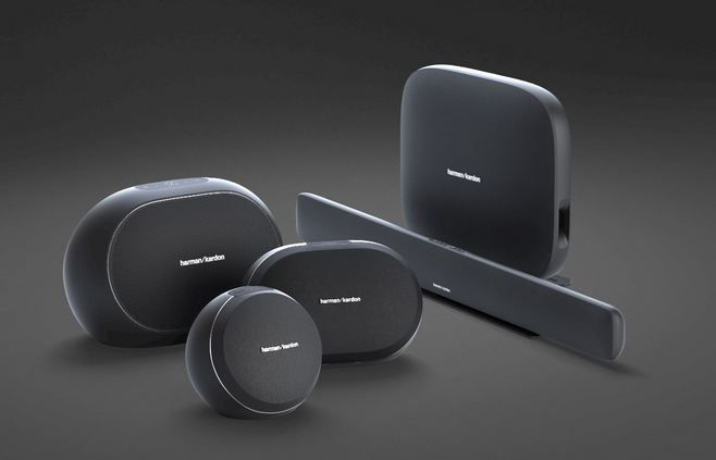 Harman Kardon Omni Speakers Offer Hd Multi Room Audio When It Comes To Speakers Connected Gadgets Capable Of Multi Room Audio Are All The Rage These Days At C With Images