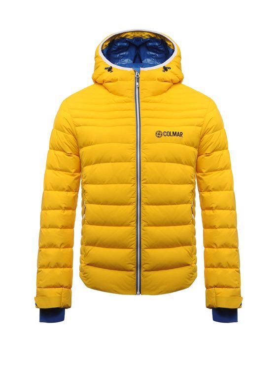 5d73e69bb7 Colmar men s ski jacket padded with natural down. - Colmar