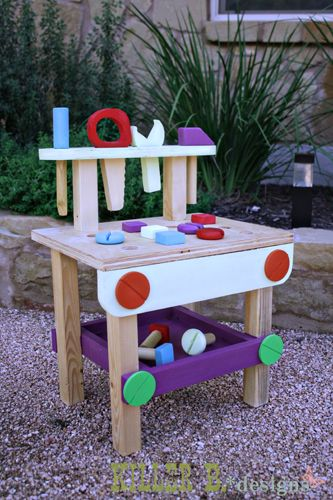 Ana White Build A Tiny Tot Tool Bench Feature By