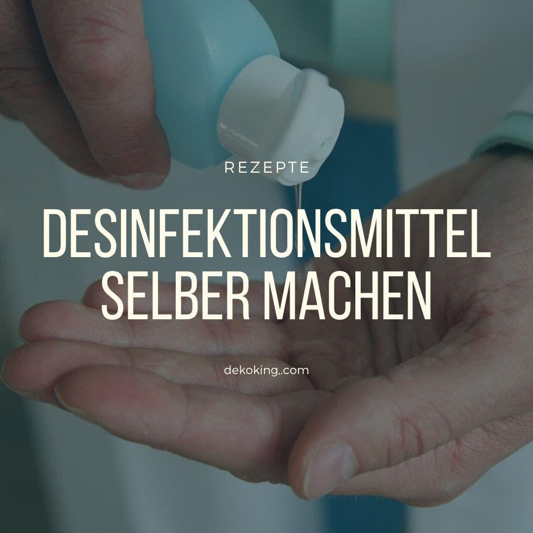 Pin Auf Desinfektion