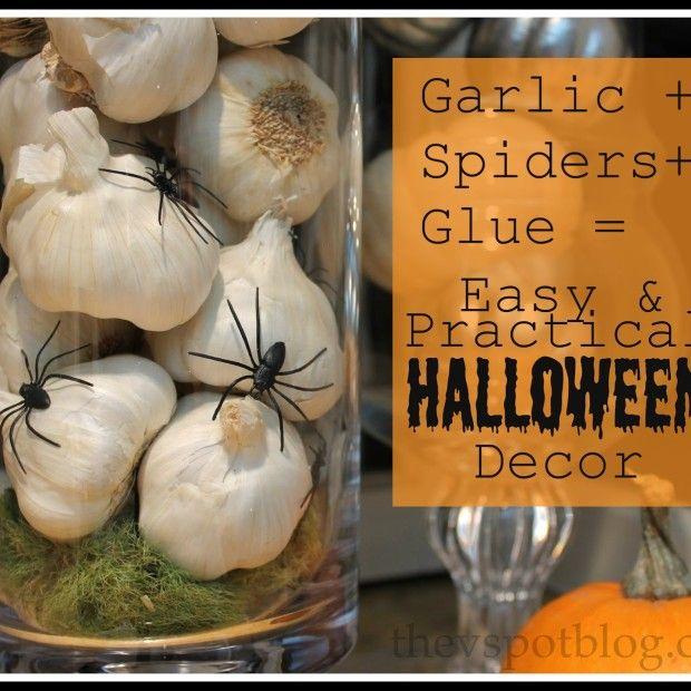 Garlic, Glue & Spiders