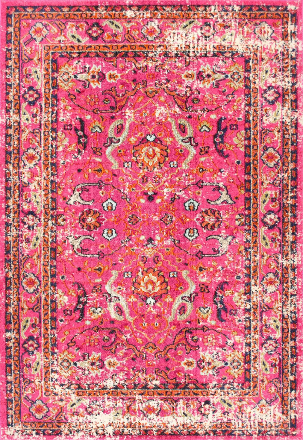 Alessia Pink Area Rug Pink Area Rug Floral Area Rugs Area Rugs