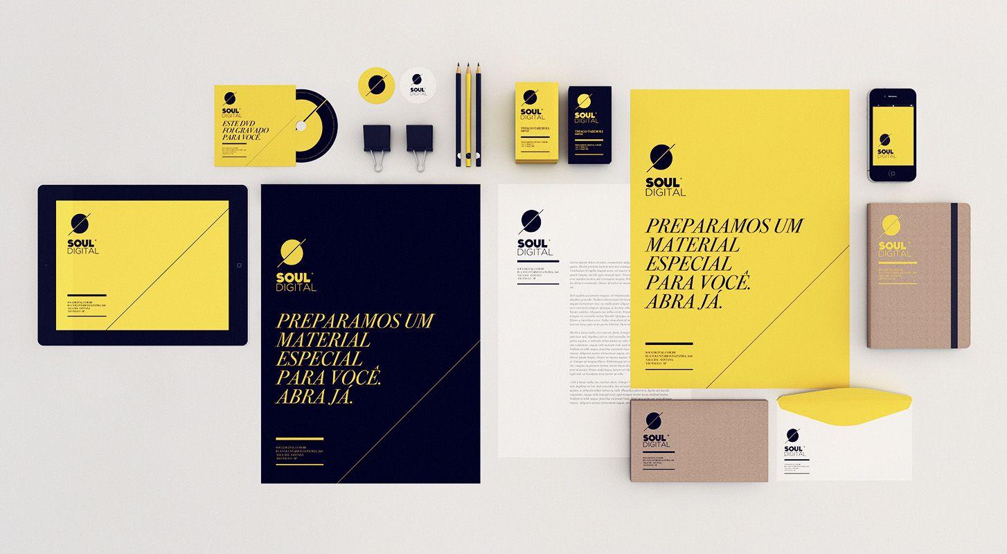 Black and Yellow Brand Identity | Branding / Identity / Design ...